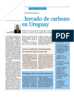 Mercado de Carbono en Uruguay (2007-11-16 El Empresario)