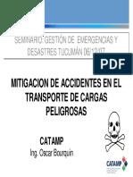 Mitigacion de Accidentes en El Transportes de Cargas Peligrosas