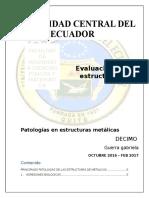 PRINCIPALES PATOLOGIAS DE LAS ESTRUCTURAS DE ACERO.docx