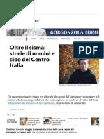 Oltre Il Sisma_ Storie Di Uomini e Cibo Del Centro Italia - Repubblica