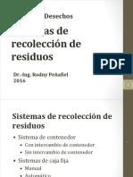5. Sistemas de Recolección de Residuos