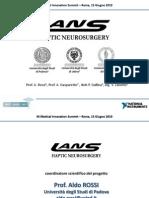 Sistema aptico master-slave per neurochirurgia robotizzata basato su NI CompactRIO e NI LabVIEW