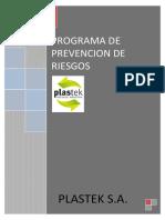 37 Programa de Prevencion de Riesgos Plastek