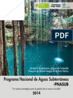 Programa Aguas Subterraneas