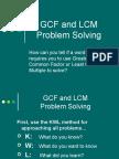 GCF LCM Word Problems
