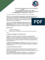 Convenio Especifico de Cooperacion Institucional Entre