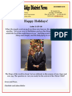December 2016 Oak Ridge District Newsletter