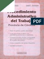 Procedimiento Administrativo Del Trabajo de La Provincia de Córdoba. Mirolo