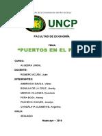 Monografia de Puertos en El Perú