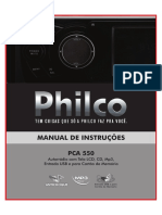 Manual Dvd Philco Pca550 Original