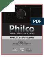 Manual Dvd Philco Pca550 Original