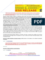 20161207-PRESS RELEASE Mr G. H. Schorel-Hlavka O.W.B. - IsSUE -Senator Nick Xenophon, Riparian Rights, Validity Senator Culleton Election, Etc & the Constitution