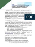 PLATAFORMA DE APOIO AO TREINAMENTO PARA A OLIMPÍADA BRASILEIRA DE INFORMÁTICA
