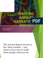 annual narrative writing.ppt
