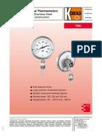 Termometro Bimetalico Ficha
