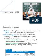 chapter 2 - matter   change ppt