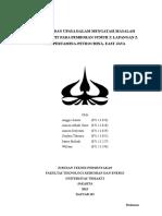Makalah Analisis Dan Upaya Dalam Mengatasi Masalah Pipa Terjepit Pada Pemboran Sumur x Lapangan z Job Pertamina-petrochina East Java