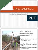Clinica Asme b31.8 Parte 1