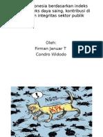 Kontribusi Indonesia