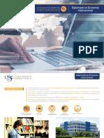Dossier Diplomado Economía Internacional