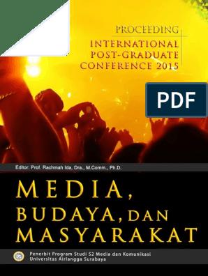 Proceeding Media, Budaya & Masyarakat | Karisma | Max Weber