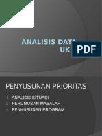 Pemaparan Perumusan Prioritas Data