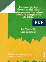 Defensa de los derechos del niño  antecedentes históricos desde la perspectiva de Chile.pdf