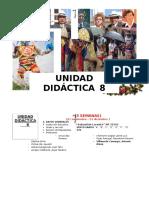 8 UNIDAD DIDACTICA 8 Noviembre Diciembre 2016