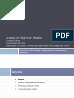 Regresión Lineal Múltiple - Interpretación, Interacciones y Supuestos