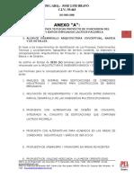 Anexo a Especificaciones Tecnicas Proyecto Comedor y Baños 2013