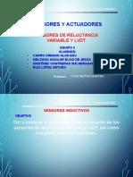 Presentación Martha Sensores Reluctancia Variable Lvdt