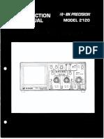 Manual BKPRECISION 2120