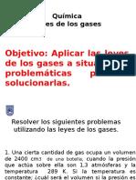 Química Ley de Los Gases (Problemática)