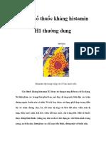 Mot So Thuoc Khang Histamin 3399