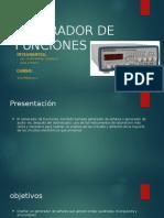 Generador de Funciones