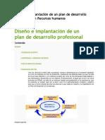 Diseño e Implantación de Un Plan de Desarrollo Profesional en Recursos Humanos