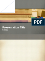 Back to School Powerpoint Template 2