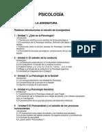 PSICOLOGÍA Guía Intregrada Julio 2015