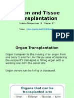 lesson 7 - organ transplantation ppt