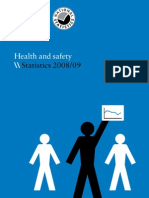HSE Health & Safety Statistics 2008--09