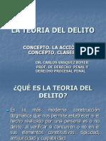 LA TEORÍA DEL DELITO.