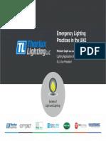 UAE Emergency Lighting Guide Lines -Good
