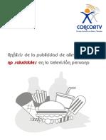 Concortv Analisis Publicidad Alimentos Tv Peru