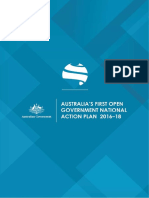 Australia's First Open Government National Action Plan - December 2016