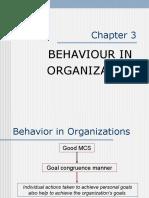 03 - Behaviour in Organization