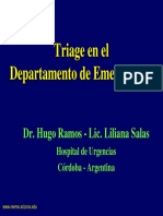 Triage en El Departamento de Emergencias