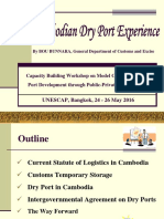 PPP and Dry Port - Cambodian Presentation