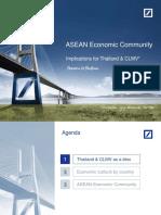 Presentation- ASEAN Economic Community - Implicati