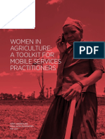 Women in Agriculture-A Toolkit for Mobile Services Practitioners