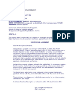 Cases on Survivorship Agreement